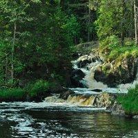 Ручей вблизи Рускеала. Карелия. Creek near Ruskeala. Karelia. :: Юрий Воронов