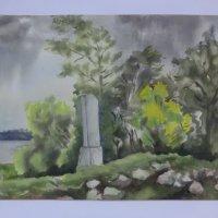 Картина художника Н.И. Иванова (Торопец - Великие Луки) :: Владимир Павлов