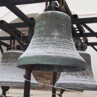 Новгородские колокола в снегу. :: Татьяна