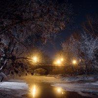Мост перед Рождеством :: Алексей Фадеев