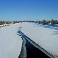 Двина зимой :: Андрей Буховецкий