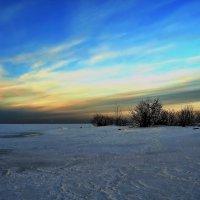 Каменная коса на Финском заливе зимой. :: Владимир Ильич Батарин