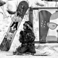 young skier :: Dmitry Ozersky