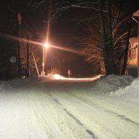 Ночь,улица,фонарь :: виктория цветкова