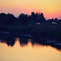 Время заката. :: владимир