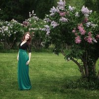 Сиреневый сад :: Anna Sidorenko