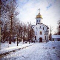 Храм Преподобной Евфросинии Московской :: AristovArt