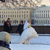 зимняя невеста :: Елена