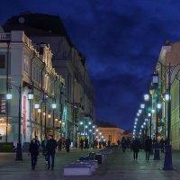 Москва ночная :: Сергей Никифоров