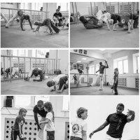 урок бразильского боевого искусства с носителем культуры :: Наталья Введенская