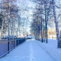 Зимняя улица :: Вячеслав Баширов