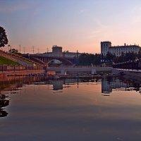 На встречу утренней заре  - по Витьбе-реке... :: Vladimir Semenchukov