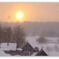 Такого снегопада давно не помнят здешние места..... :: Павлова Татьяна Павлова
