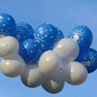Летят шары счастья :: Татьяна Смоляниченко
