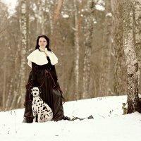 В зимнем парке... :: Денис Банцерж