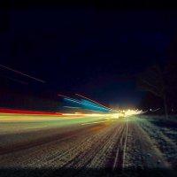 Ночь, дорога. :: Сергей