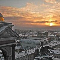 закат над городом :: Елена