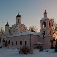 Церковь Живоначальной Троицы в Хорошеве (XVI в.) :: Alexander Petrukhin