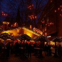 Вечерний Гамбург перед Рождеством (серия). Приятный предпраздничный вечер :: Nina Yudicheva