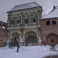 Златые ворота с крутицким надвратным теремом. 1681-1684 :: Яков Реймер