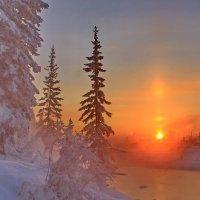 Морозные зарисовки декабря. :: Александр