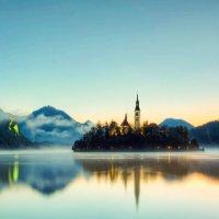 Туман на реке :: Valentina Ariel