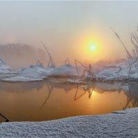 зимний рассвет. :: олег кирюшкин
