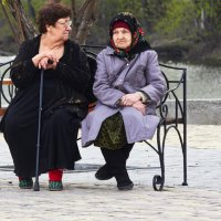 Подруги. :: Евгений Суханов