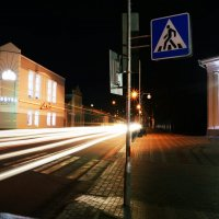 Night lights Pinsk :: Ivan Polkhovskii