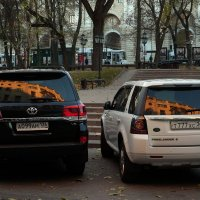 Октябрь в Петровском сквере :: София
