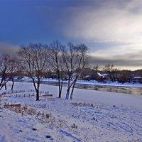 Зима на набережной :: Дубовцев Евгений