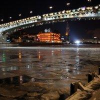 огни и лёд большого города :: Олег Лукьянов