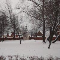 Часовенка в снегу :: Svetlana Lyaxovich