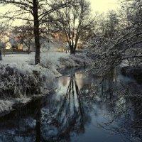 В Деревне Зимой.. Тишина да Покой.. :: Эдвард Фогель
