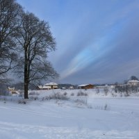 Зимний пейзаж! :: Алла ************