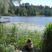 Раифское озеро (около Богородицкого мужского монастыря) :: марина ковшова