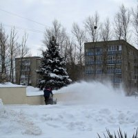 Пора чистить снег! :: Татьяна Смоляниченко