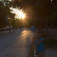 Прогулка в Афинах. :: Оля Богданович