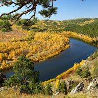 Осень на Ингоде. :: Александр Киргизов