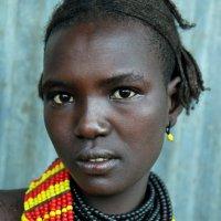 Девушка из племени Дассанеч после дождя :: Евгений Печенин