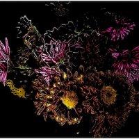Такие разные хризантемы :: Нина Корешкова