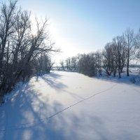 Зимняя река Дема :: Сергей Тагиров
