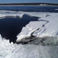 Лед на Ангаре :: Надежда Малинкина