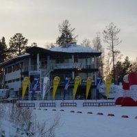 Ангарский лыжнобиатлонный комплекс :: Галина