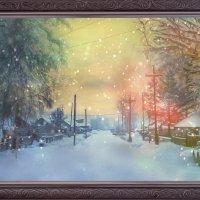 Зимняя улочка Богучан 2 :: Anastasiya Ageeva