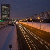 Зеленоград ночью :: Роман Репин