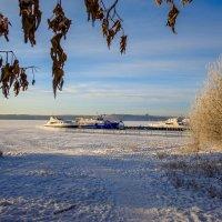 Декабрь. Залив Ангары. Иркутск. :: Rafael