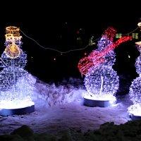 снеговики :: Сергей Кочнев