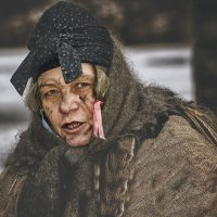 Баба-Яга. :: Лилия .