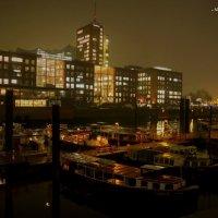Вечерний Гамбург перед Рождеством (серия). В порту :: Nina Yudicheva